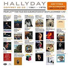 Hallyday - Official Mercury 1961-1975 Coffret 20CD Compilation