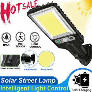 1200W Solar Wall Light LED PIR Motion Sensor Outdoor Garden Security Street Lamp