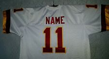 #00 Customized  Football Jersey  Your NAME -Number-Sewn-On .8XL