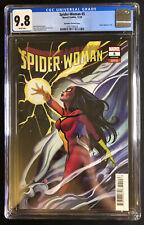 Spider Woman # 5 CGC 9.8 Peach Momoko Variant Marvel Comics 2020