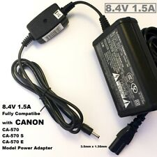 8.4V 1.5A Battery Charger for Canon Camera, Replacement for CA 570, CA 570S