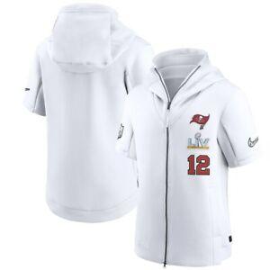 Tampa Bay Buccaneers Tom Brady Nike Superbowl Bound Diamond Hoodie - Large