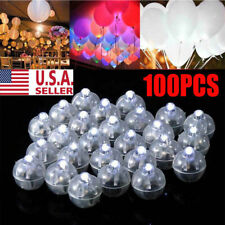 100pcs LED Ball Lamps Balloon Light for Paper Lantern Wedding Party Decoration