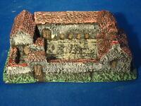 Painted La haye sainte farm for 2mm, 6mm for waterloo farm