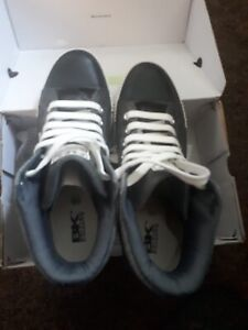 BK BRITISH KNIGHTS TRAINERS. BLACK AND WHITE. Size UK 9.5, EUR 43-44, US 10