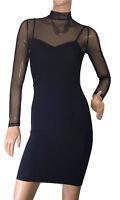 🌻KOOKAI SIZE 1 BLACK STRETCH SPECIAL OCCASION DRESS LIKE NEW