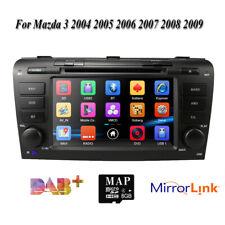 Fit Mazda 3 2004 2005 2006 2007 2008 2009 Car DVD Stereo GPS Map Radio Player UK