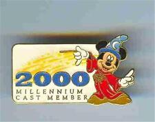 SORCERER MICKEY 2000 MILLENNIUM CAST LE 2500 Disney PIN