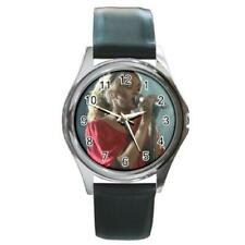 Carrie Underwood Country Music Star  Round Metal Watch