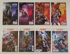 Lot of 8 Thor Marvel Comics Siege 1-4 & Ultimate 1-4 1st Prints WOW!!! DEAL!!!