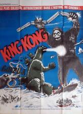 KING KONG VS GODZILLA - KINGU KONGU TAI GOJIRA - HONDA - ORIGINAL LARGE POSTER