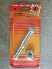 Nut & Bolt 10mm X 65mm H.T.