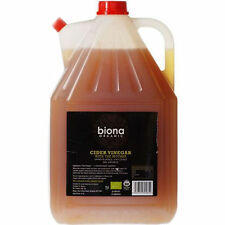 Biona Raw Organic Apple Cider Vinegar 5 L Unfiltered with Mother 5 Litre