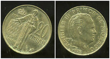 MONACO 20 centimes 1979  ( bis )