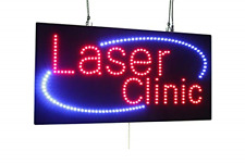 Laser Clinic Sign, Super Bright Led Open Sign, Store Sign, Business Sign, Window