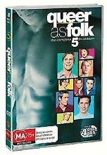 Queer As Folk (U.S.) : Season 5 (DVD, 2016, 4-Disc Set)