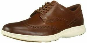New Cole Haan Men's Grand Tour Wing Ox Woodbury/ Ivory C29414 Shoes