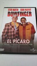 "DVD ""BOWFINGER EL PICARO"" COMO NUEVO STEVE MARTIN EDDIE MURPHY FRANK OZ"