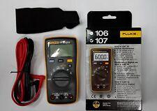 Fluke107 Palm-Sized F107 Meter Digital Multimeter - int'l version (english logo)
