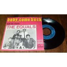 THE EQUALS - Baby Come Back French PS 7' Classic Mods Soul Beat 68'