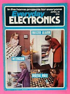 EVERYDAY ELECTRONICS - Magazine - Digital Rule - Freezer Alarm - April 1981