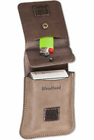 Woodland® Leder Zigarettenhülle Zigarettenetui Zigarettentasche Zigarettenbox