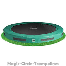 Salta Excellent ground trampoline 427 cm bodentrampoline Grün inground trampolin