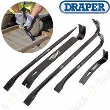 5Pc Crowbar Set Wrecking/Pry/Crow Bar/Pull/Lever Demolish Hand Tool Steel Rod