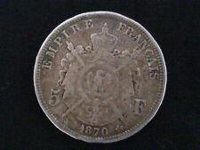 1870 5 Franc Coin