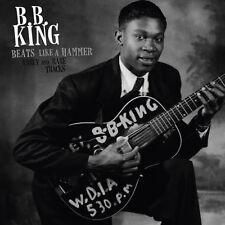 """B. B. KING """"BEATS LIKE A HAMMER"""" EARLY & RARE TRACKS 1949-1956 ITALY IMPORT LP"""