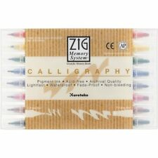 Kuretake ZIG Memory System Calligraphy Pen Set of 8