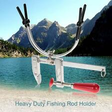 360° FISHING ROD BRACKET BOAT POLE MOUNT CLAMP CLIP STANDER HOLDER TOOL VS T0W5