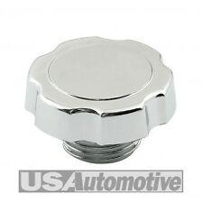 Mr Gasket #9724 Oil Filler Cap Screw In  Chrome