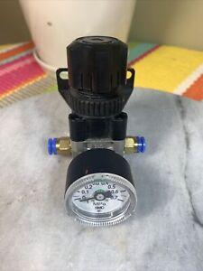 SMC ARX20-F01 Pressure Regulator & Gauge, 2.0MPa, 5-60°C
