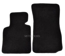 FIT FOR 03-08 BMW E85 E86 Z4 BLACK NYLON CARPET FLOOR MAT 2 PCS NEW