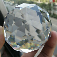 Centerpiece Suncatcher 60mm Faceted Crystal Ball Prism Paperweight Fengshui