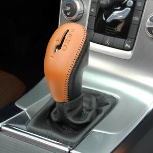 Car Center Gear Shift Handbrake Protective Sleeve For Volvo XC60 S60 V60 V40