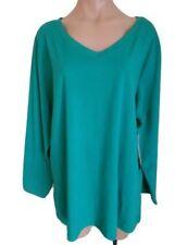 Cotton V-Neckline Tunic Tops for Women