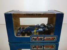 POLISTIL FK12 TYRRELL P34/2 - #4 BLUE 1:32 -  GOOD CONDITION IN BOX