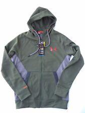 Under Armour men's UA Storm Armour Fleece Full Zip hoodie Jacket green M 1260968