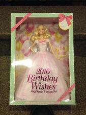 NEW!! Barbie Collector Pink Label - 2016 Birthday Wishes Blonde - BRAND NEW!!