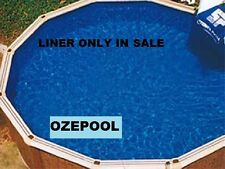 ROUND ABOVE GROUND POOL LINER15 x48 (4.5 X 1.2) fit all brand, SKY or DARK blue