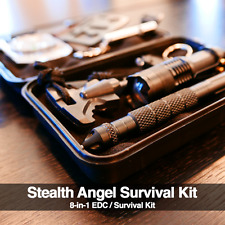 Stealth Angel Survival / Everyday Carry 8-in-1 Survival Kit