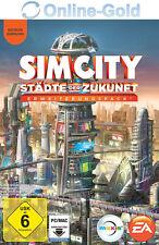 Sim City Städte der Zukunft Cities of Tomorrow Key PC EA Origin Code Addon DLC