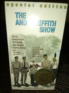 Andy Griffith Show Lot of Three VHS  New Sealed Gift Set Intro by Milton Berle