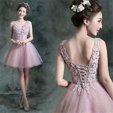 Short Bridesmaids dresses Formal Evening Prom Party dress Ballgown  Y120E