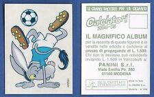 FIGURINA CALCIATORI PANINI 1994/95 - NUOVA/NEW N.222 MASCOTTE - NAPOLI