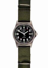 Montre Militaire Quartz MWC G10 LM Military montre (Oliva Vert Sangle)