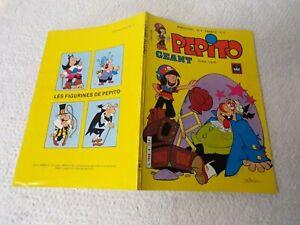 BD Pepito bimestriel n°4 de 1987