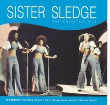SISTER SLEDGE - THE 9 GREATEST HITS CD Includes track We are family New Sealed